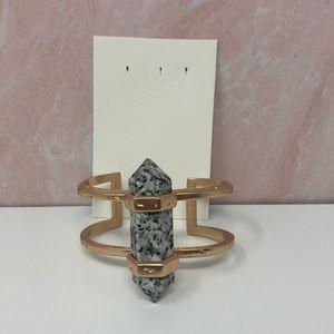 Kendra Scott Shelli Cuff Bracelet Gray Granite A4